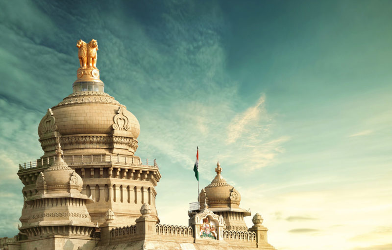 Image of Vidhana Soudha in India