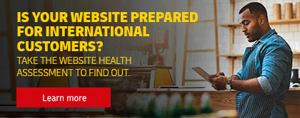 Take the website health assessment