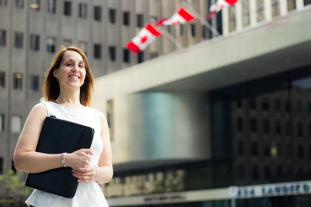 Canada business woman